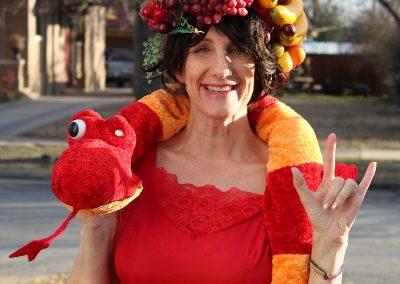 Fruit Hat Lady: