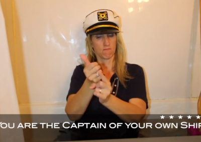 You are my Captain