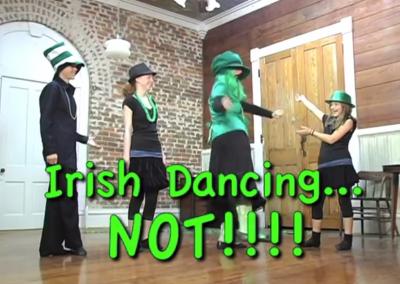 Irish Dancing Not with Vonda